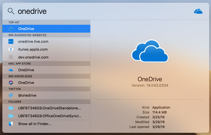 OneDrive for the Mac - Files on Demand - Eastern Connecticut